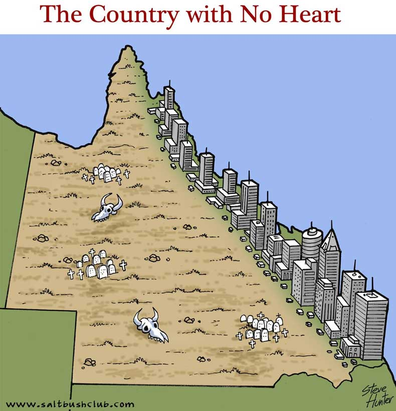 country with no heart