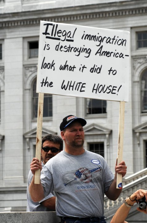 Look What Illegal Immigration Has Done to White House