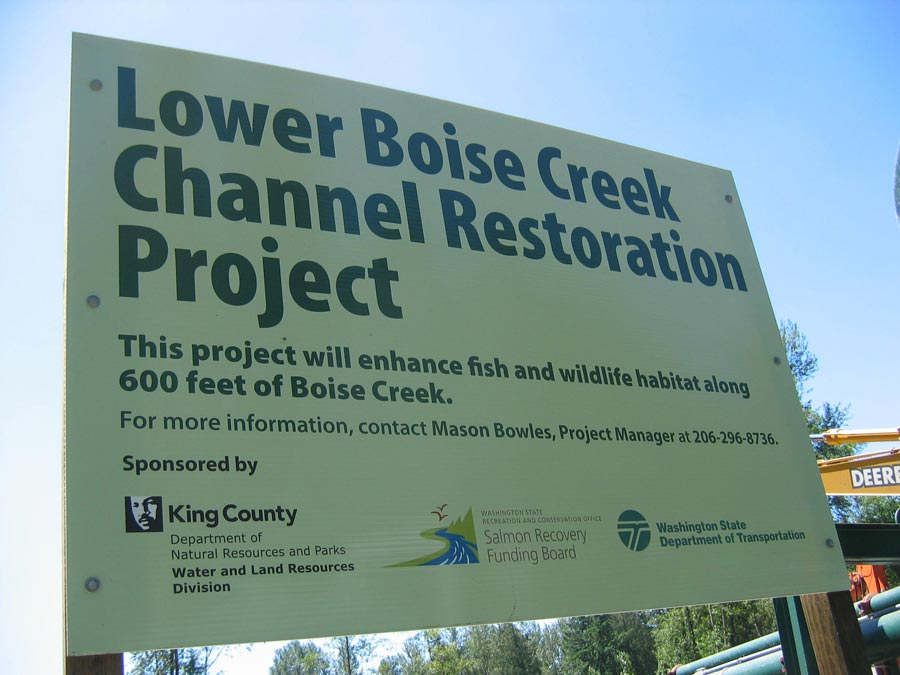 Boise Creek Complicit Agencies
