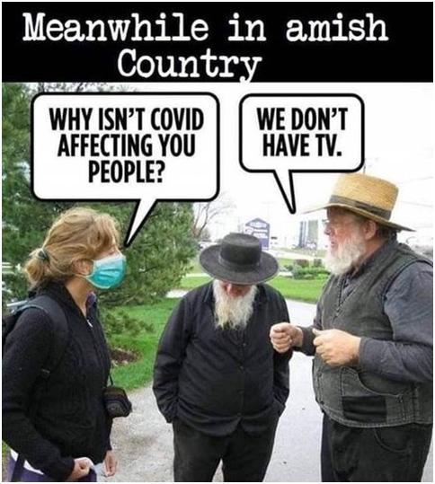 Why Amish Dont Wear Masks