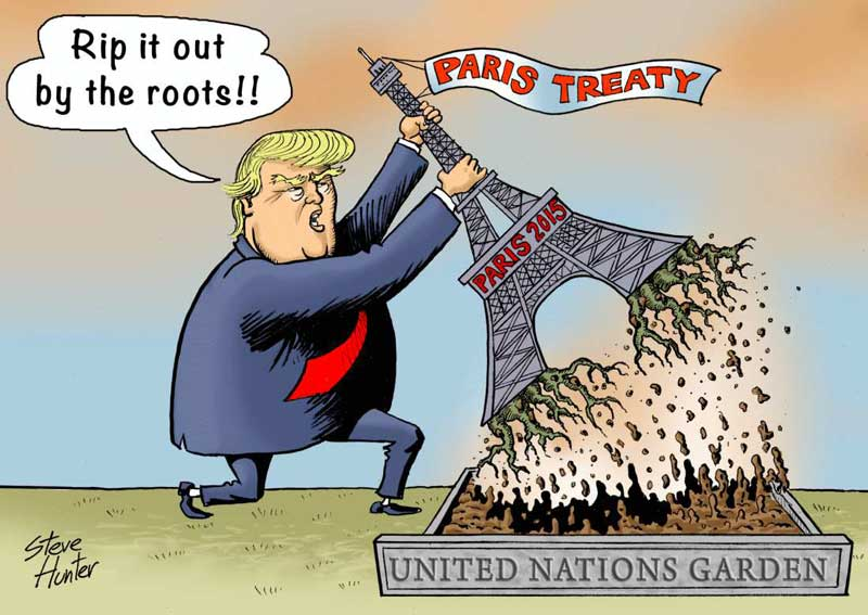 Rip Out Paris Treaty