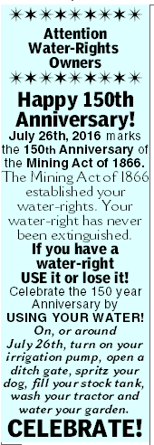 Water Rights Defined