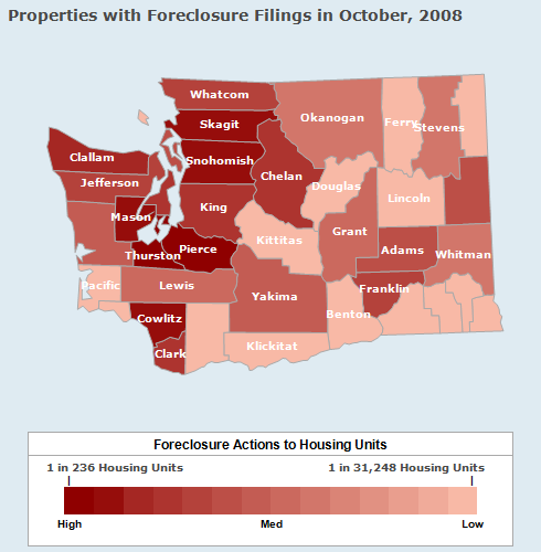 Foreclosure in Washington