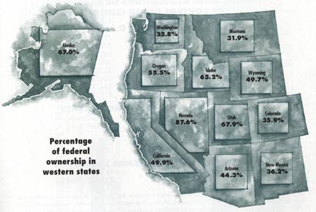 Map of Federal Ownership