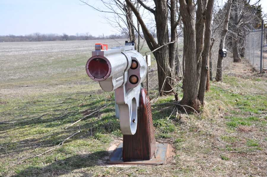 Smith & Wesson Mailbox
