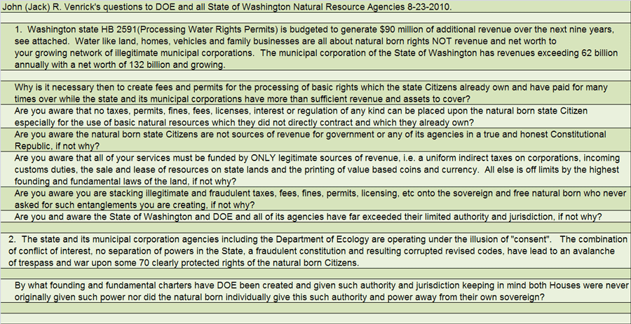 24 Questions Why to WA State DOE Pg1